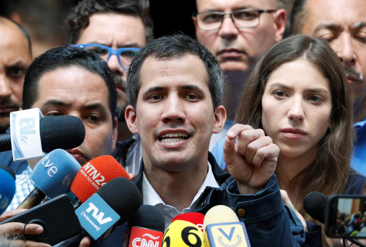 Wife of Venezuela's Guaido says army is key to political change