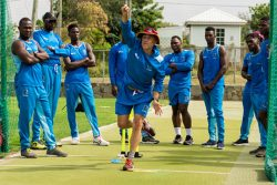 Englishman Richard Pybus, whose selection as coach of the West Indies team has caused much controversy will lead the West Indies team into action in today's opening test against England in Barbados.