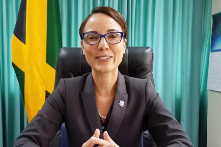 Jamaican Minister of Foreign Affairs and Foreign Trade Kamina Johnson Smith