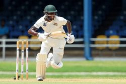 Jermaine Blackwood … stroked a half-century for Scorpions.