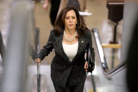 United States (US) presidential hopeful Kamala Harris