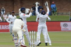 Sri Lanka bowlers Suranga Lakmal 4-39, Dhananjaya de Silva 3-36 and Kasuan Rajitha 2-20 helped dismiss South Africa for 128, their second lowest completed innings total at home.