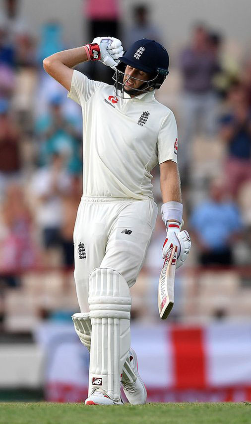 Captain Joe Root's 16th Test hundred helped starve West Indies