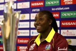 West Indies skipper Stafanie Taylor.