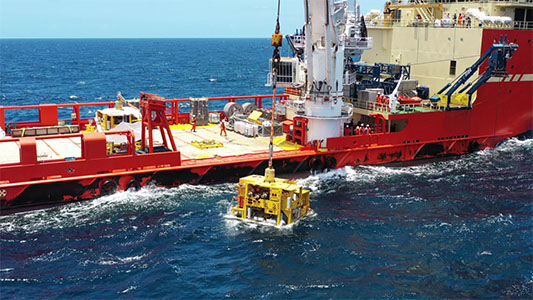 Exxon installs first subsea tree for Liza Phase 1 offshore
