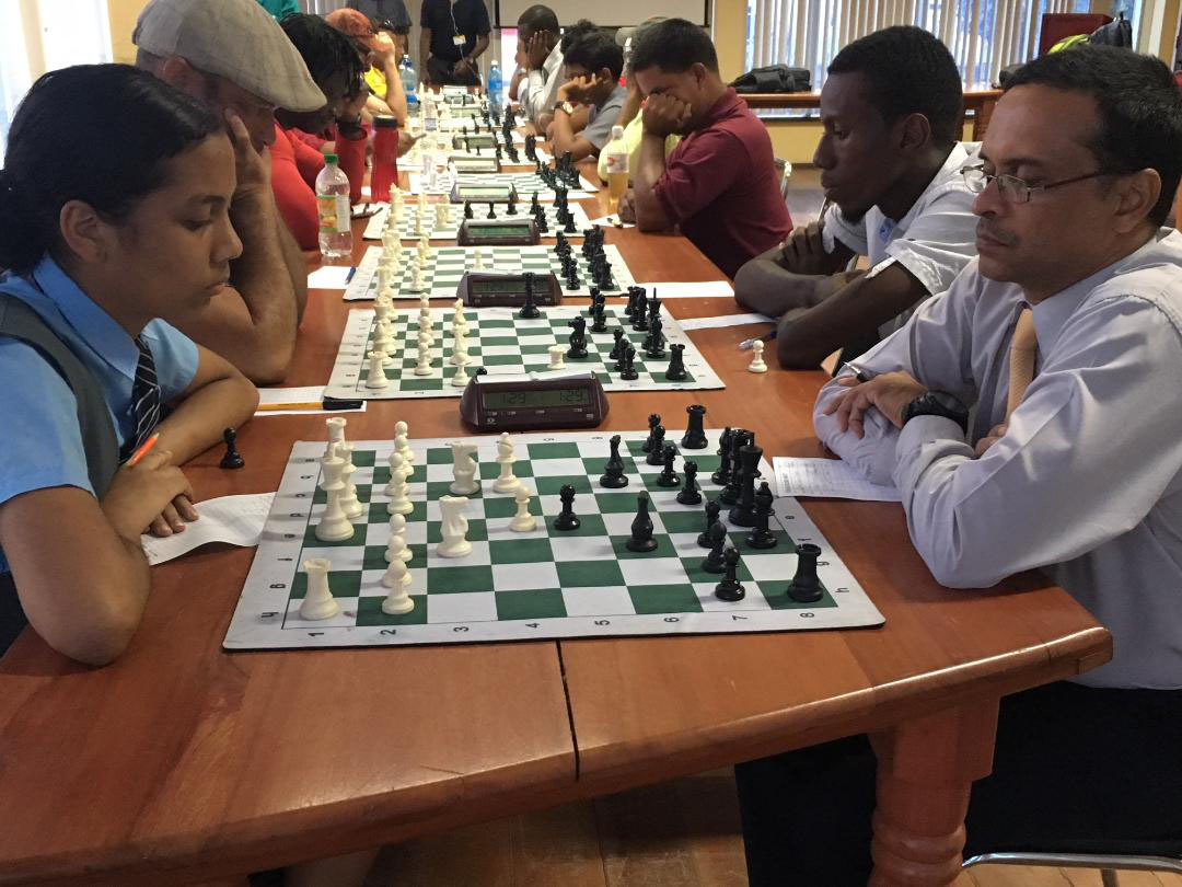 National chess champion to be crowned today - Stabroek News