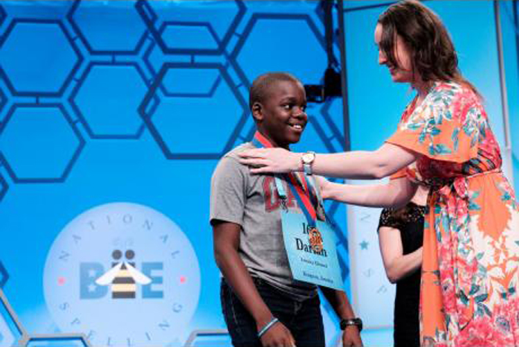 Badger speller won't move on in national bee