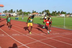 Devaun Barrington made a huge statement Sunday by winning the men's 800m final at the Independence Track and Field Meet held at theNational Track and Field Centre, Leonora.