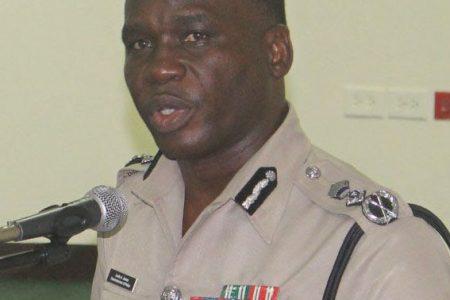 Commissioner of Police Leslie James