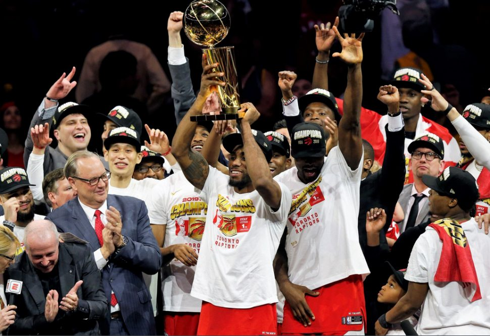 The Toronto Raptors won their first NBA title Thursday night.