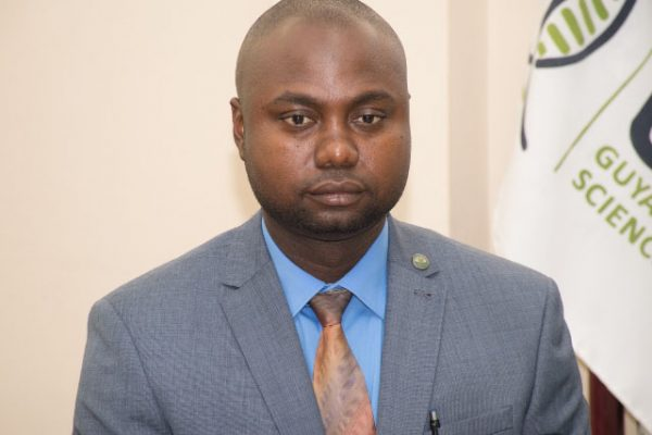 Director of Guyana Forensic Science Laboratory (GFSL) Delon France