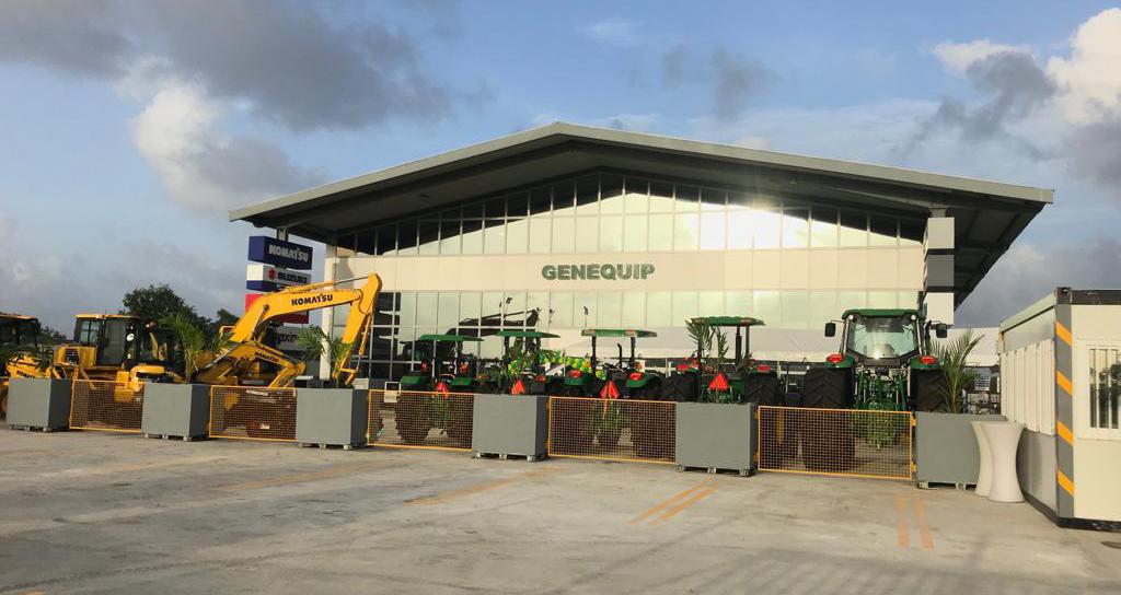 GENEQUIP commissions new energy efficient dealership at