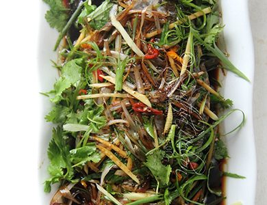 Chinese-style Steamed Fish (Photo by Cynthia Nelson)