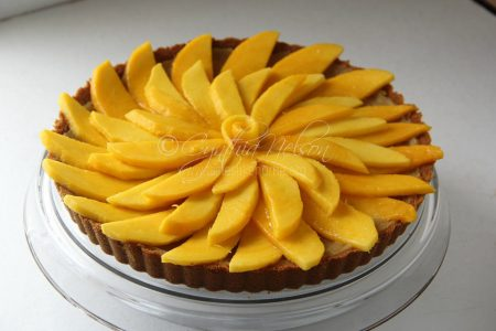 Fresh Mango Tart (Photo by Cynthia Nelson)