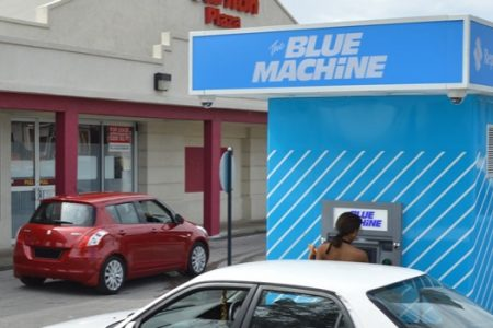 Republic Bank Blue Machine