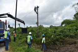 GTT workers engaged in the project (GTT photo)