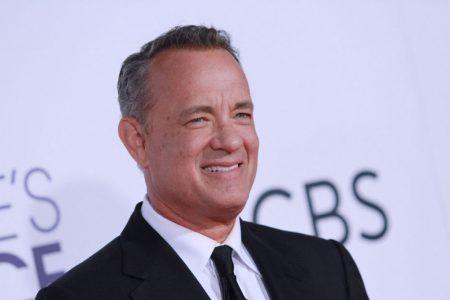 Mandatory Credit: Photo by Matt Baron/BEI/Shutterstock (7898420om) Tom Hanks 43rd Annual People's Choice Awards, Arrivals, Los Angeles, USA - 18 Jan 2017
