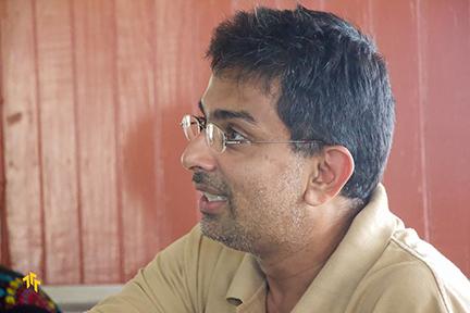Vidyaratha Kissoon (Timehri Film Festival photo)