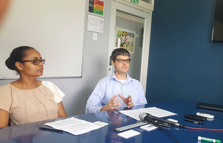 CLBD Deputy Director Natasha Gaskin-Peters, and CLBD Director Patrick Henry