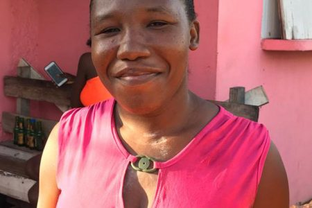Latifa Roberts who was listed as one of the persons who didn't uplift their identification cards.