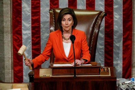 House of Representatives Speaker Nancy Pelosi