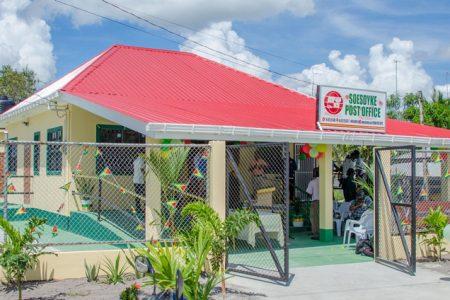 The newly refurbished Soesdyke Post Office. (DPI photo)