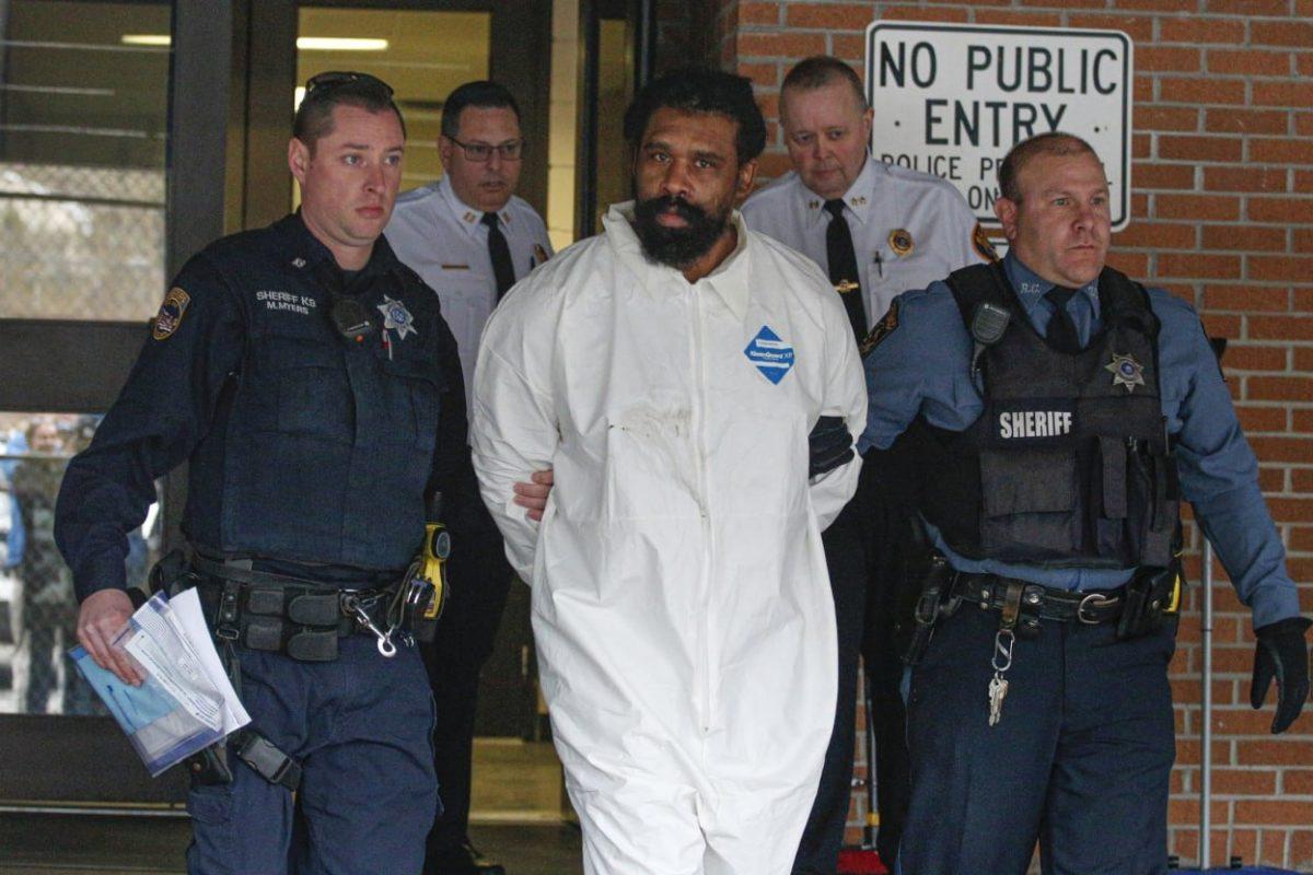 Grafton Thomas in detention