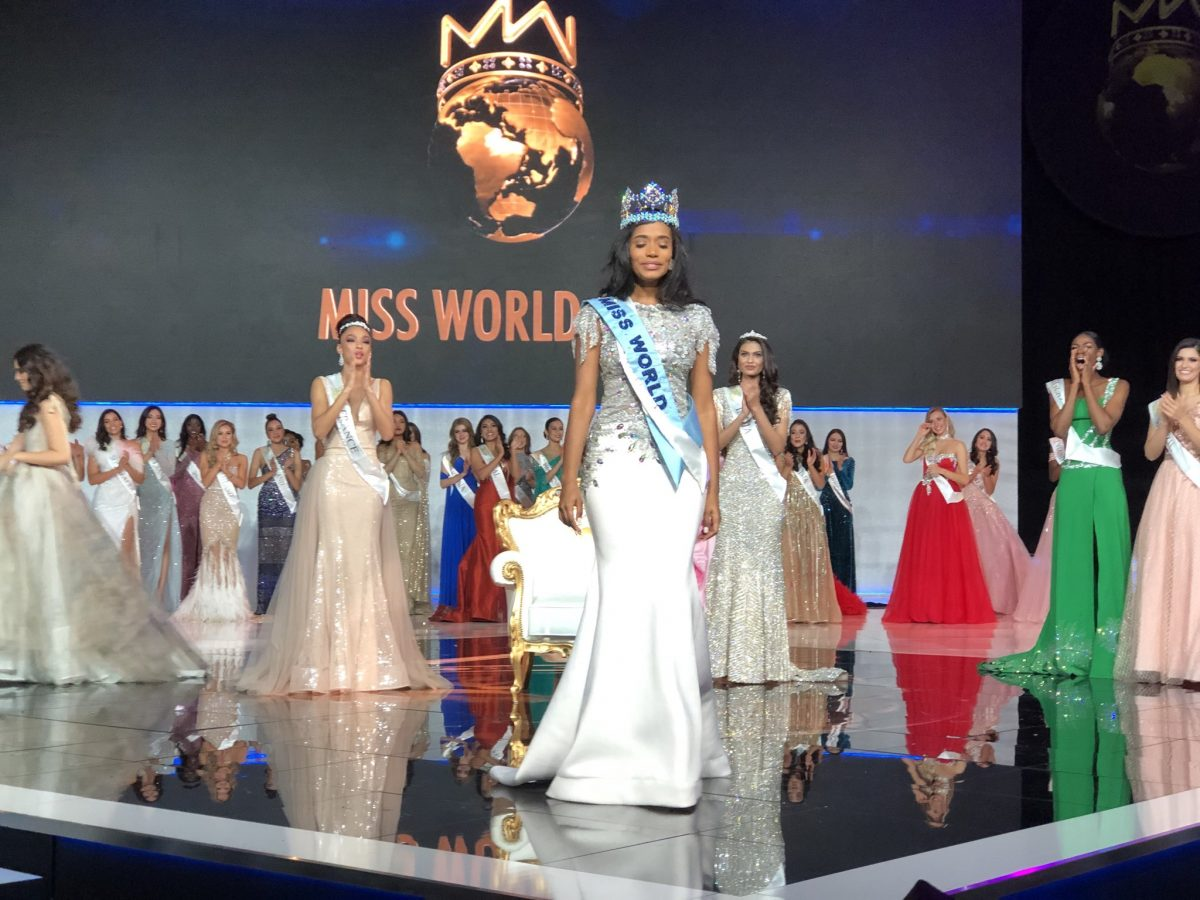 Toni-Ann Singh from Jamaica is the 69th Miss World