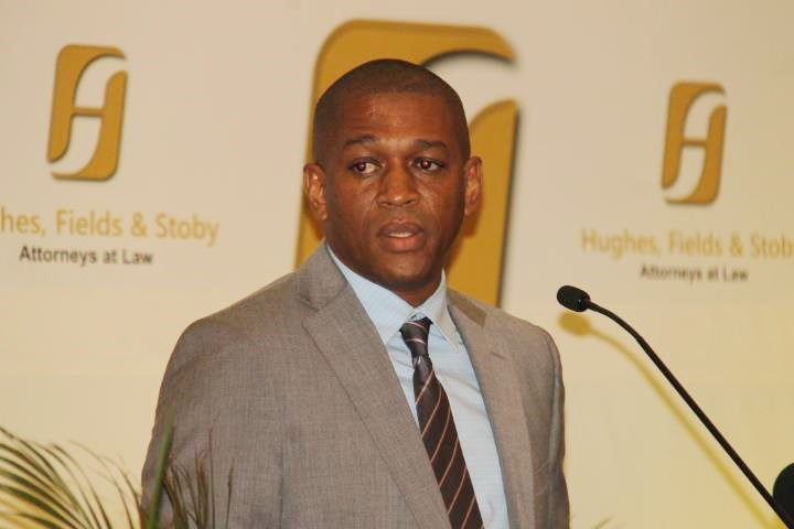 Head of the Department of Energy Dr Mark Bynoe