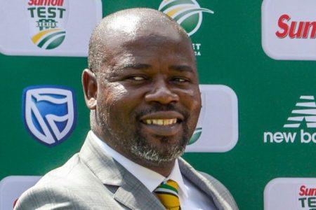 Cricket South Africa chief executive Thabang Moroe