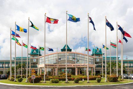 The CARICOM Secretariat Headquarters at Liliendaal