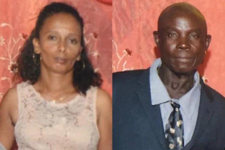 Dead: Somattie Keosoram (left) and In custody: Terrence Jackson