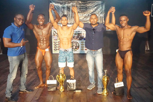 Albert Conway And Jeffries Star At Novices Bodybuilding C Ships Stabroek News