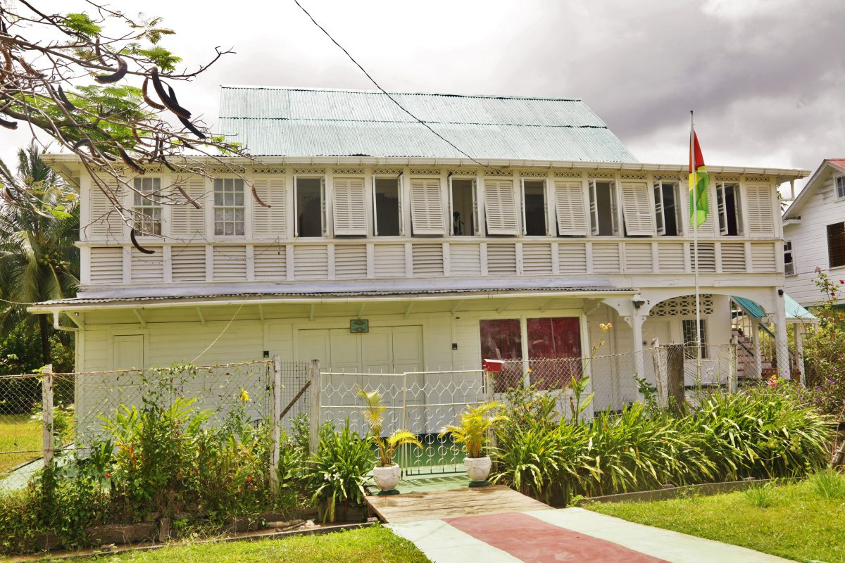 Sans Souci, a community on the north-western coast of Wakenaam Island