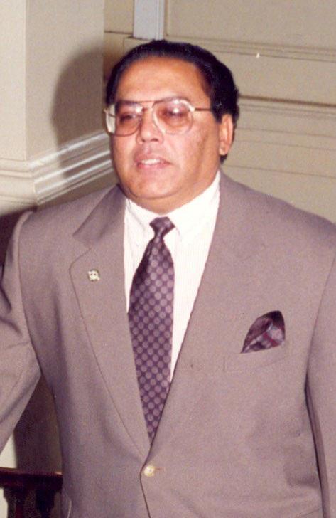 Asgar Ally when he was Senior Minister of Finance