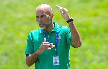 Cricket West Indies' Director of Cricket, Jimmy Adams.