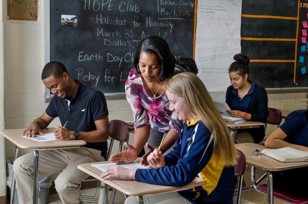 Putting Students In Charge Of Their Learning