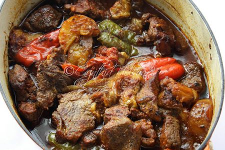 Iraqi Beef & Vegetable Stew (Photo by Cynthia Nelson)