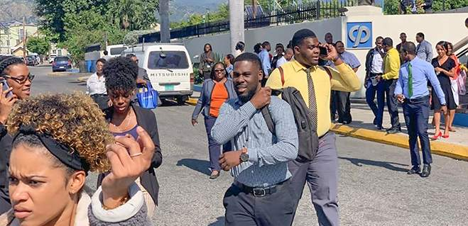 Many Jamaicans worried as they return to their workplaces today