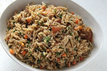 We unite over our love for Fried Rice (Photo by Cynthia Nelson)