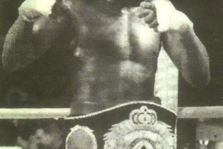 Gairy `Superman' St Clair is a former world champion.
