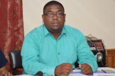 Dr Steven Cheefoon (Department of Public Information photo)