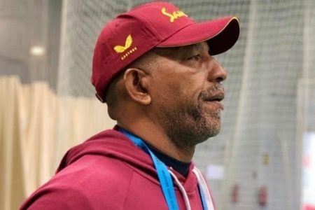 West Indies head coach, Phil Simmons