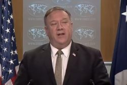 Mike Pompeo speaking today