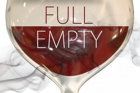 Is the glass half full or half empty? The choice is yours. (Image by Gerd Altmann from Pixabay)