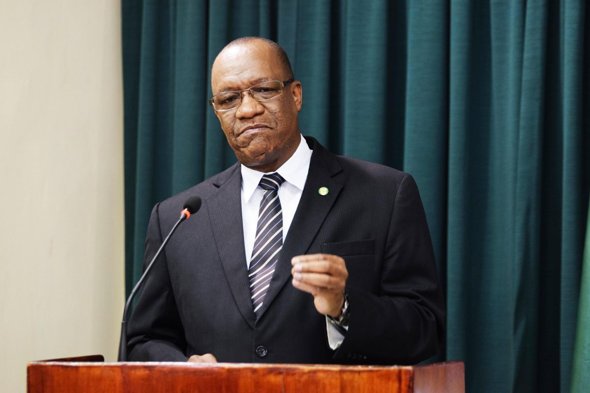 Harmon's contract as Director General considered terminated – Nandlall