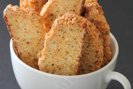 Aniseed Biscotti (Photo by Cynthia Nelson)