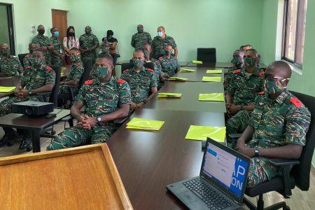Photo shows the participants