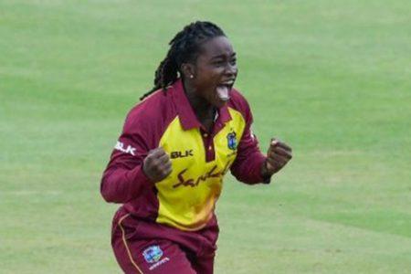 West Indies all-rounder Deandra Dottin.