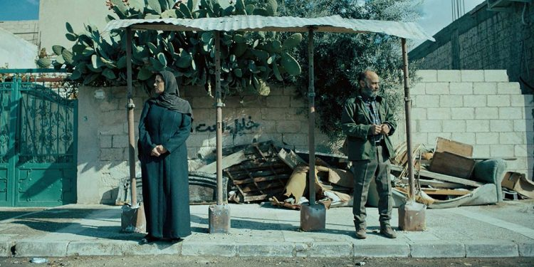 "Hiam Abbass and Salim Dau in ""Gaza mon amour""  (Image courtesy of TIFF)"